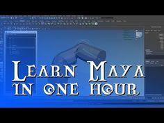Learn Maya in 1 HourComputer Graphics & Digital Art Community for Artist: Job, Tutorial, Art, Concept Art, Portfolio