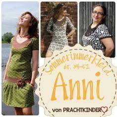 Nähanleitungen Mode - PRACHTKINDER❤ Sommerimmerkleid Anni ebook 34-52 - ein Designerstück von Prachtkinder-Do bei DaWanda
