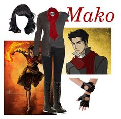 """TLOK:Mako"" by emjen1512 ❤ liked on Polyvore featuring Yves Saint Laurent, Lija, Fat Face and Forever 21"