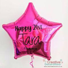 Balloon Ideas, Balloon Decorations, Personalized Balloons, Creative Decor, Christening, Pink, Pink Hair, Roses, Balloon Centerpieces