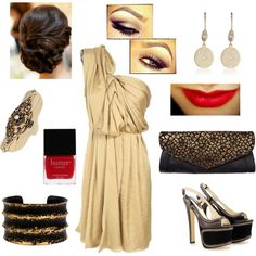 Love this look...only a brunette could do this