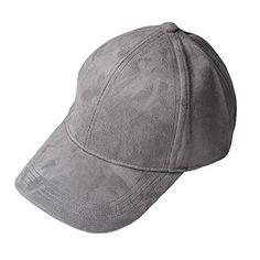 Soft Faux Leather Suede Hat Baseball Cap Gorra De Béisbol De Cuero 4c9468c4c04
