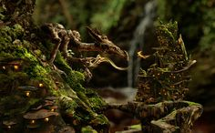 An Encounter at Greenspindle by Phil McDarby.  Scroll down and see large images of various details, it's amazing!