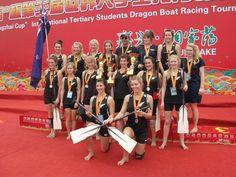 Christchurch Grammar with Merlin paddles