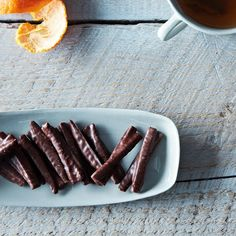 Chocolate-Covered Candied Orange Peel on Food52: http://food52.com/provisions/products/842-chocolate-covered-candied-orange-peel #Food52