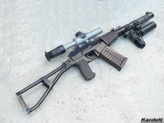 9 мм Автомат специальный - АС