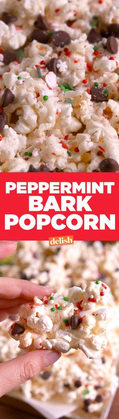 Peppermint Bark Popc
