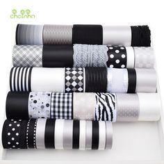Alta qualidade 37 Projeto Mix Black & White & Cinza Fita Conjunto Para Diy Ofício Artesanal Acessórios Para o Cabelo Materiais de Embalagem pacote de 37 Jardas em Laços de Home & Garden no AliExpress.com | Alibaba Group
