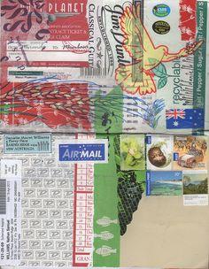 Danielle Maret - I prefer this kind of junk mail! Everyday Ephemera Themed Mail Art 2013 #37, via Flickr.