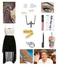 """Date with Niall. The first time he says he loves you."" by katie-sarah-b ❤ liked on Polyvore featuring Cartier, Kate Spade, AS29 and NARS Cosmetics"