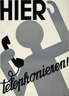 Otto Baumberger, Hier telefonieren!