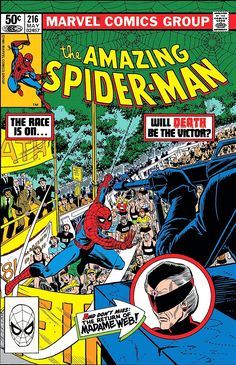 The Amazing Spider-Man *Bronze Age / Marvel Comics / Madame Web* Amazing Spider Man Comic, Amazing Spiderman, Character Drawing, Comic Character, John Romita Jr, Thing 1, Comic Drawing, Marvel Comic Books, Vintage Comics