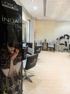 We use the best products to keep your hair beautiful and healthy: L'Oreal INOA