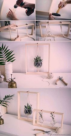Home Diy Plants Inspiration 61 Ideas Diy Para A Casa, Diy Casa, House Plants Decor, Plant Decor, Diy Home Crafts, Diy Home Decor, Ideias Diy, Diy Hanging, Hanging Plant