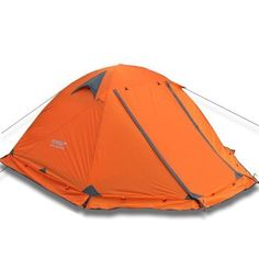 cool 2 Person Tent Double Layer 4 Season Aluminum Rod Outdoor Camping Topwind 2 Plus with Snow Skirt - Great for camping and family gathering - Fits upto 2-3 persons inside - Protects you from wind and sun during your all season activites - ready to withstand harsh winter camping or summer adventure fun