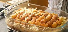 Tater Tot™ Casserole Recipe Asian Recipes, Ethnic Recipes, Casserole Recipes, Macaroni And Cheese, Cooking, Food, Crock Pot Recipes, Kitchen, Mac And Cheese