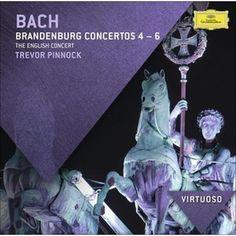 Trevor Pinnock - Bach: Brandenburg Concertos Nos. 4-6 (CD)