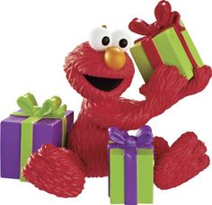 Carlton Heirloom Ornament 2013 Elmo with Presents  CXOR054D * Be sure to check out this awesome product affiliate link Amazon.com