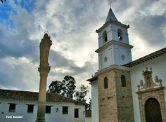 Iglesia del Convento de monjas de Clausura, Villa de Leyva, Boyacá, Colombia.