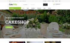 CakeShop is a WordPress Eheme for eCommerce, especially for eateries, birthday cakes, wedding cakes. CakeShop is full of features of a shop like wishlist, Seo Plugin, Seo Basics, Singles Sites, Seo Optimization, Cabinet Space, Cake Shop, Retail Design, Display Ideas, Ecommerce
