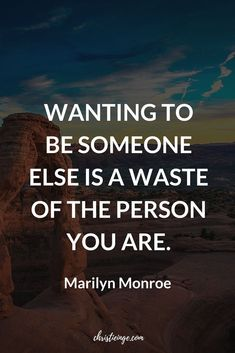 Marilyn Monroe Quote about self love and self acceptance #selflove #selfacceptance #personalgrowth #powerfulwoman #selfcare #selfcompassion #quote #quoteoftheday #quotable #quotestoliveby #quoting #quotes #quotesoftheday