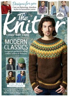 Журнал - The Knitter Knitting Magazine, Crochet Magazine, Knitting Books, Knitting Yarn, Icelandic Sweaters, Knit Basket, Fair Isle Knitting, How To Purl Knit, Pullover