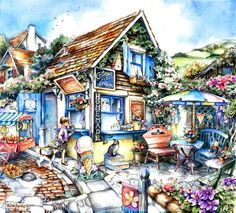 Cottage Ice Cream by Kim Jacobs
