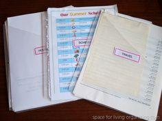 Project Folders: Planning Basket