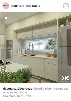 Kitchen Corner, Kitchen Shelves, Kitchen Cabinets, Home Decor Kitchen, Kitchen Dining, Window Grill, Building A House, Kitchens, Ideas