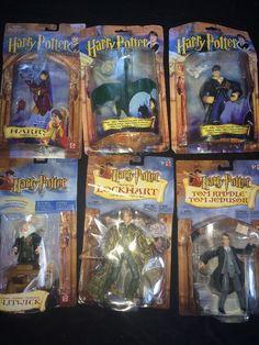 Harry Potter Lot of 6 Damaged Action Figures by Mattel 2001 2002 | eBay
