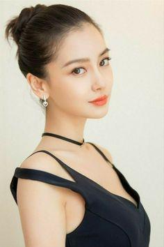 Kumpulan pict artis gans&cans dari beberapa negara Most Beautiful Faces, Beautiful Asian Women, Beautiful People, Angelababy, Pretty Asian, Girl Face, Sensual, Pretty Face, Asian Woman
