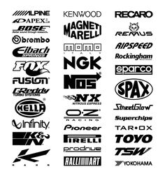 When you want the exterior of your vehicle to stand out from the crowd, show them a message through decals and lettering stickers of your choice. Jdm Stickers, Racing Stickers, Funny Stickers, Car Decals, Vehicle Decals, Logo Sticker, Sticker Design, Typography, Lettering