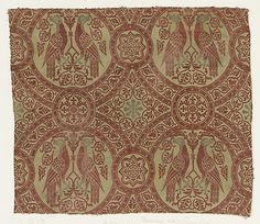 The Metropolitan Museum Mobile - Art Object Fabric Rug, Fabric Painting, 14th Century Clothing, Century Textiles, Italian Outfits, Fabric Stamping, Weaving Textiles, Medieval Fashion, Mobile Art