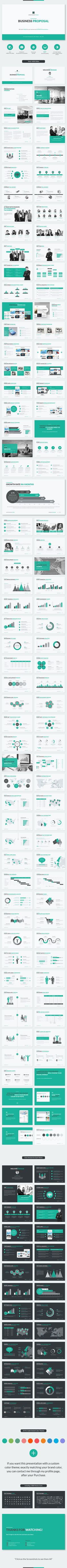 Business Proposal Keynote Template #design #slides Download…