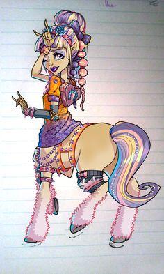Monster High OC? Awesome centaur!