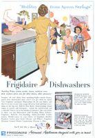 Frigidaire Dishwasher 1960 Ad Picture