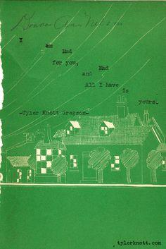 Typewriter Series #102 by Tyler Knott Gregson