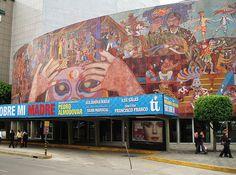 Mexico City, Teatro Insurgentes (Diego Rivera).