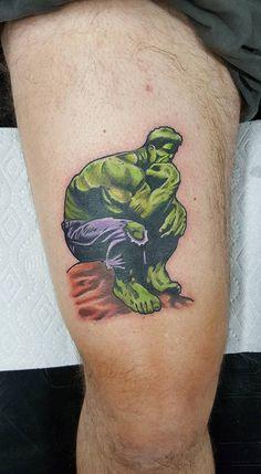 hulk tattoo tattoos by garry deronda pinterest hulk tattoo