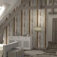 Optez pour une décoration imitation bois dans votre intérieur avec cet  intissé COLOURWOOD !