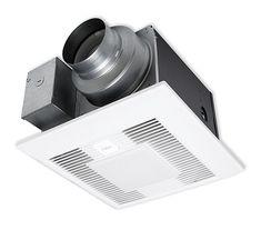 Panasonic Whisper Quiet Bathroom Fan With Light: Panasonic FV-05-11VKL1 Review