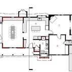Here's a floor plan of the IdeaGarden house.Don't miss a word of Dwell! Download our  FREE app from iTunes, friend us on Facebook, or follow us on Twitter!