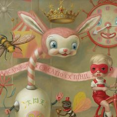 The Magic Circus by Mark Ryden #MarkRyden #painting #art