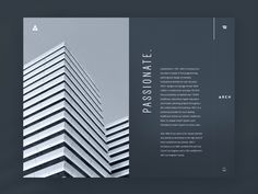 Hello friends! I have prepared a new shot to discuss with you today. This time it's a design concept featuring a website for architectural bureau following minimalistic and functional approach. The...