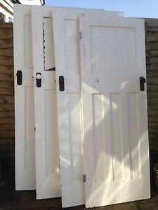 Solid Oak 1930s Style Door | Solid oak doors, Oak doors and Solid oak