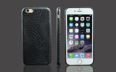Leather Cover For iPhone 6 6s Luxury Crocodile Snake Print Leather Back Cover Case for iphone 7 Plus 5 5s SE Phone Bags Cases