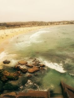 The famous Bondi Beach Sydney