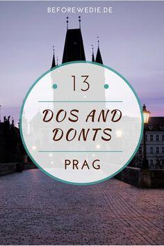 Welche Sehenswürdigkeiten in Prag sind ein Muss, was kann man sich sparen? Alle Highlights und Tipps für eine Prag Reise gibt es hier!