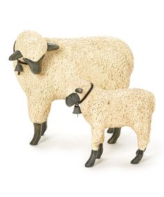 Look what I found on #zulily! Mom & Ewe Figurine Set by ESC and Company, Inc. #zulilyfinds