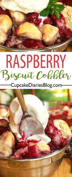 Easy Raspberry Biscu